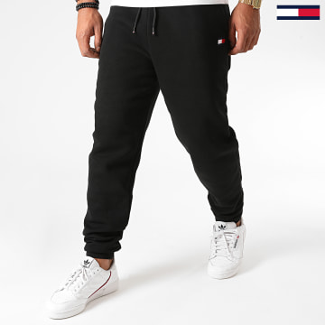 Tommy Sport - Pantalon Jogging Cuffed Regular Fleece 0563 Noir