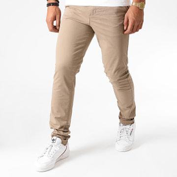 Jack And Jones - Pantalon Chino Slim Marco Dave Beige