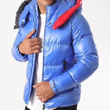 MTX - Doudoune Capuche 99516 Bleu Roi