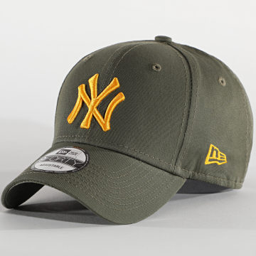 New Era - Casquette 9Forty League Essential 12490166 New York Yankees Vert Kaki
