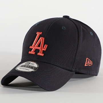 New Era - Casquette 9Forty League Essential 12490171 Los Angeles Dodgers Bleu Marine