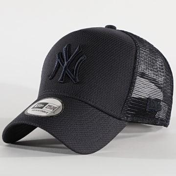 New Era - Casquette Trucker Diamond Era 12490284 New York Yankees Bleu Marine