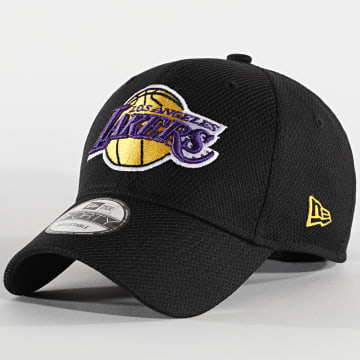 New Era - Casquette 9Forty Diamond Era 12490290 Los Angeles Lakers Noir