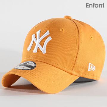 New Era - Casquette Enfant 9Forty League Essential 12513997 New York Yankees Jaune
