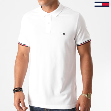 Tommy Hilfiger - Polo Manches Courtes 2 MB Mercedes 8678 Blanc