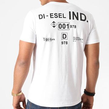 Diesel - Tee Shirt Diegos A00827-0HAYU Blanc