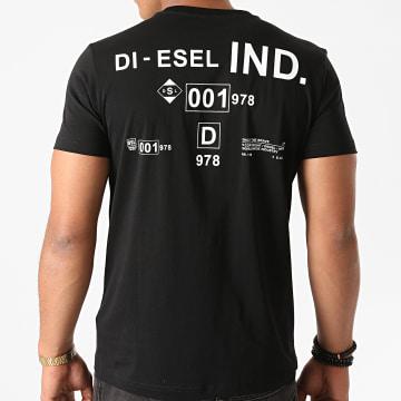 Diesel - Tee Shirt Diegos A00827-0HAYU Noir