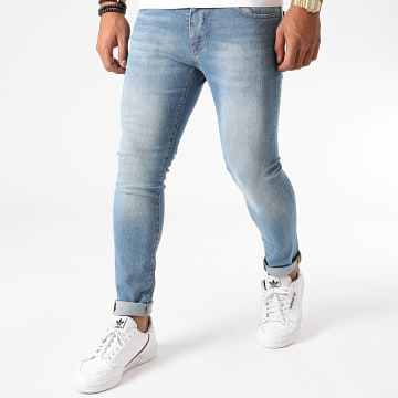 John H - Jean Super Skinny Fit P222 Bleu Denim
