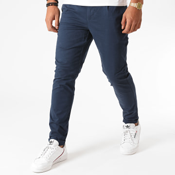 Only And Sons - Pantalon Chino Cam PG 6775 Bleu Marine