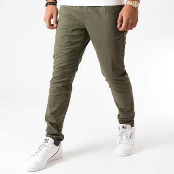 Only And Sons - Pantalon Chino Cam PG 6775 Vert Kaki