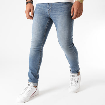 Only And Sons - Jean Skinny Warp Life Bleu Denim