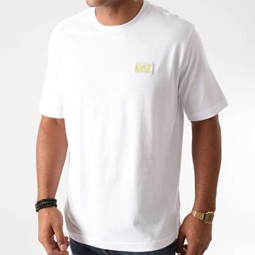 EA7 - Tee Shirt 6HPT03-PJ2AZ Blanc