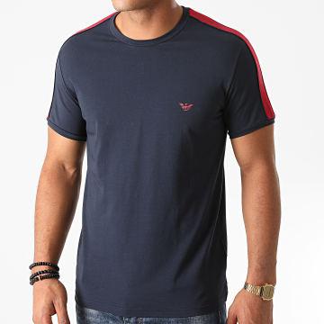 Emporio Armani - Tee Shirt A Bandes 111890-0A717 Bleu Marine