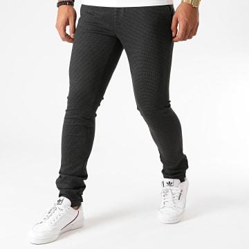 Indicode Jeans - Pantalon Dunton Gris Anthracite Chiné