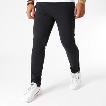 Indicode Jeans - Pantalon Burch Bleu Marine