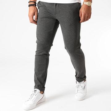 Indicode Jeans - Pantalon Burch Gris Chiné
