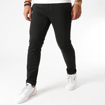 Indicode Jeans - Pantalon Burch Noir