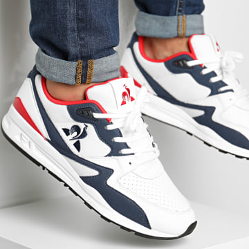 Le Coq Sportif - Baskets LCS R800 Optical White Pure Red