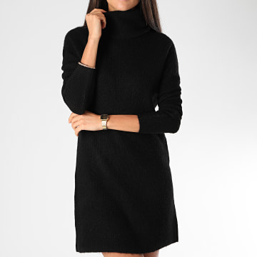 Only - Robe Pull Femme Manches Longues Jana Noir