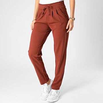 Only - Pantalon Femme Catia Marron