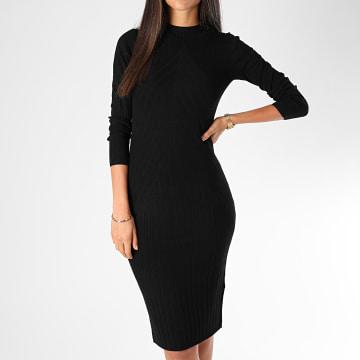 Only - Robe Pull Femme Kate Noir