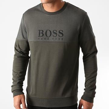 BOSS - Sweat Crewneck Tracksuit 50443054 Vert Kaki