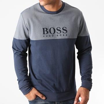 BOSS - Sweat Crewneck Tracksuit 50443054 Bleu Marine