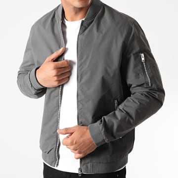 Jack And Jones - Bomber Rush Gris Anthracite