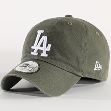 New Era - Casquette Washed Casual Classic 12489966 Los Angeles Lakers Vert Kaki