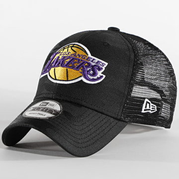 New Era - Casquette Trucker 9Forty Seasonal The League 12490016 Los Angeles Lakers Noir Camo