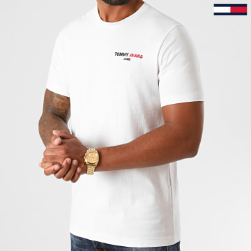 Tommy Jeans - Tee Shirt Chest Corp 9401 Blanc