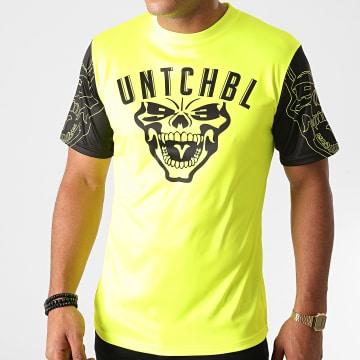 Untouchable - Tee Shirt Maillot Jaune Fluo