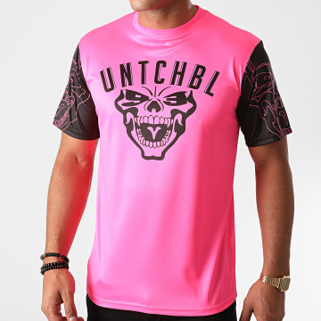 Untouchable - Tee Shirt Maillot Rose Fluo