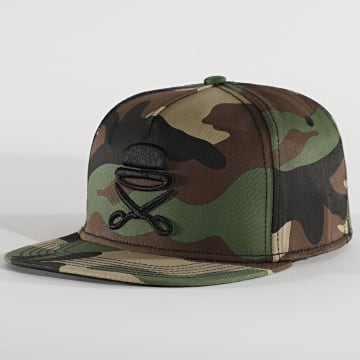 Cayler And Sons - Casquette Snapback Icon CS1132 Camouflage Vert Kaki