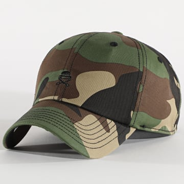 Cayler And Sons - Casquette Small Icon CS1137 Camouflage Vert Kaki