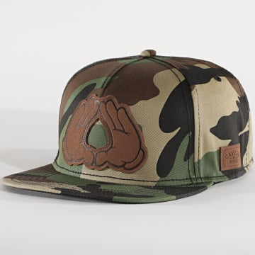 Cayler And Sons - Casquette Dynasty Lux CS1297 Camouflage Vert Kaki