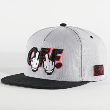 Cayler And Sons - Casquette Snapback Off CS1436 Gris