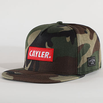 Cayler And Sons - Casquette Snapback Statement Camouflage Vert Kaki