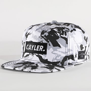 Cayler And Sons - Casquette Statement CS1500 Camo Blanc