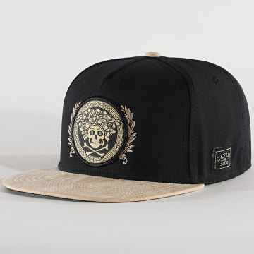 Cayler And Sons - Casquette Snapback Badusa Noir Beige