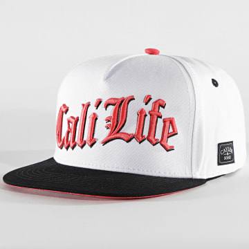 Cayler And Sons - Casquette Snapback Cali Life CS2488 Blanc