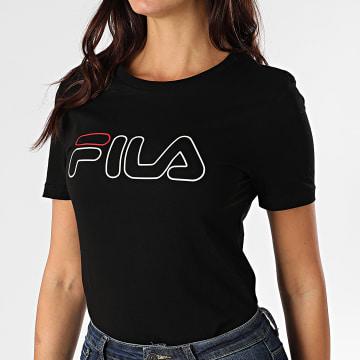 Fila - Tee Shirt Femme Ladan 683179 Noir