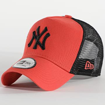New Era - Casquette Trucker League Essential 12490149 New York Yankees Orange