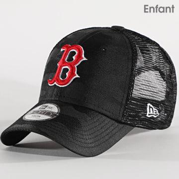 New Era - Casquette Trucker Enfant 9Forty Seasonal The League 12513987 Boston Red Sox Noir Camo