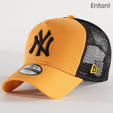 New Era - Casquette Trucker Enfant 9Forty League Essential 12514004 New York Yankees Jaune