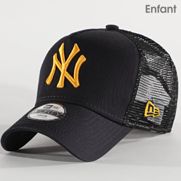 New Era - Casquette Trucker Enfant League Essential 12514005 New York Yankees Bleu Marine