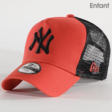 New Era - Casquette Trucker Enfant 9Forty League Essential 12514006 New York Yankees Orange