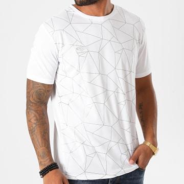 Umbro - Tee Shirt 807330-60 Blanc Argenté