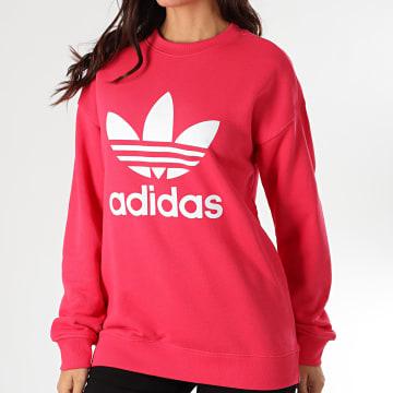 Adidas Originals - Sweat Crewneck Femme Trefoil GD2436 Rose