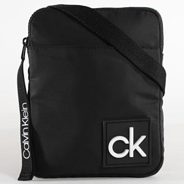 Calvin Klein - Sacoche Flat Pack 6014 Noir